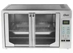 Oster Digital French Door Countertop Oven Turbo Convection Extra Large USED $89.99