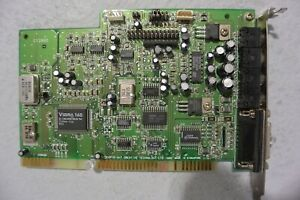 CREATIVE SOUND BLASTER VIBRA 16S YMF262 M OPL3 CT2860 ISA SOUND CARD HP $34.95