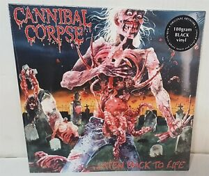 Cannibal Corpse Eaten Back To Life Black Vinyl LP Record new $25.99