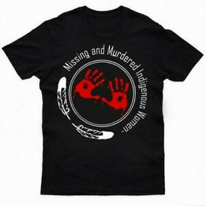 Native American Missing And Murdered Indigenous Women T Shirt SIZES S 5XL $9.86