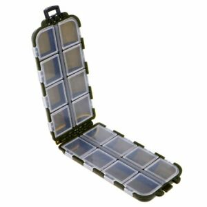 Fishing Tools 16 Compartments Fishing Storage Case Fishing Lures Hook Tackle Box