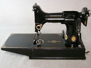 1950 SINGER vtg FEATHERWEIGHT 221 sewing machine PARTS frame hull PARTS RESTORE $109.95