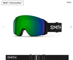 Never Opened Smith 4D Mag ChromaPop Goggles with extra Lens Retail: $300