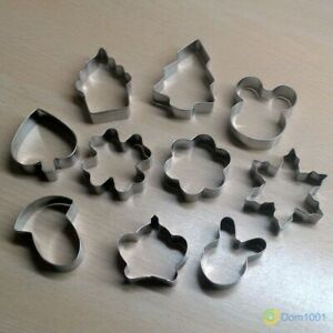 Aluminum molds for cookies