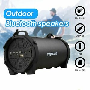 Portable Bluetooth Speaker Wireless Stereo Loudly Super Bass Sound Aux USB FM TF $28.99