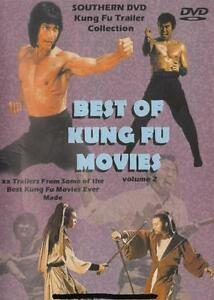 BEST OF KUNG FU TRAILERS VOL 2 DVD Martial Arts Shaolin 22 Previews Bruce Lee