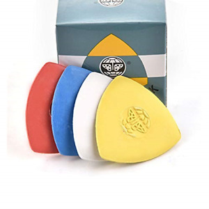 10 Pieces Pack Triangle Tailors Chalk Sewing Quilting Notions White Yellow RE... $7.56
