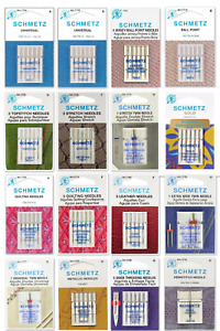 Schmetz Sewing Machine Needles Choose from 92 Types Sizes $7.99