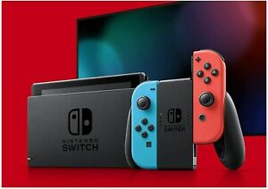 NEW Nintendo Switch Red Blue Joy Con accessories 6 Month Warranty $289.99