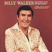 Billy Walker : Greatest Hits on Monument Country 1 Disc CD $8.46