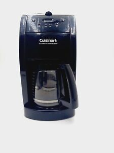 Cuisinart Coffee Maker and Grinder DGB 500BK