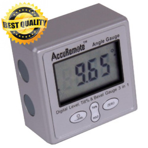 AccuRemote Digital Electronic Magnetic Angle Gage Level Protractor Bevel... $46.19