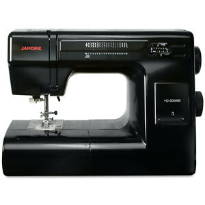 Janome HD3000BE Black Edition $429.00