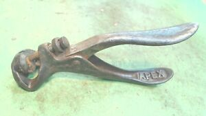 Vintage Apex Special Saw Set Chas. Morrill Tool Handsaw NEW YORK