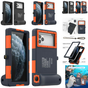 For iPhone 12 11 Pro Max XS X 6 7 8 Plus Underwater Diving Waterproof Case Cover $36.26