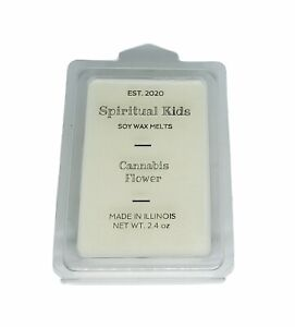 Cannabis Flower Soy Wax Melts 6ct Hand Poured Fragrant Essential Oils $4.75