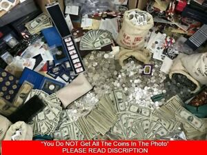 ESTATE SALE OLD US COINS SILVER UNCIRCULATED LOT VINTAGE COLLECTION GOLD $49.99