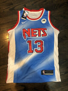 #13 James Harden Brooklyn Nets Men#x27;s Stitched Blue City Edition Jersey