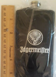 JAGERMEISTER FLASH BLACK WITH A PAINTED LOGO. NEW FREE USA SHIPPING