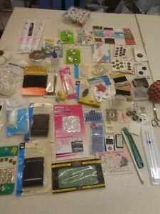 MIXED LOT OF ASSORTED SEWING SUPPLIESD $14.99