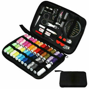 Portable Sewing Set Travel Mini Small Emergency Accessories Kit Basic Hand Home $10.46