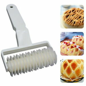 Baking Mold Pastry Lattice Roller Cutter Plastic Pastry Bakery Kitchen Tool