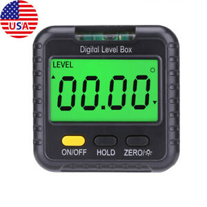 Magnetic Digital Level and Angle Finder Protractor Inclinometer Bevel Gauge Tool $14.99