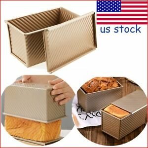 450g Non stick Loaf Pan Bread Mold Rectangle Loaf Pan Cake Home Toast Baking
