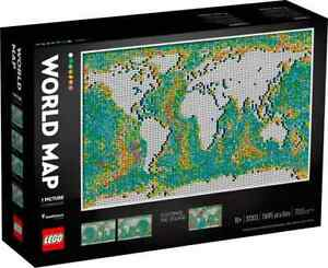 LEGO 31203 ART World Map **Free shipping And On Hand**