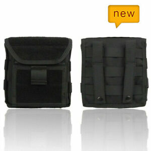 Tactical Military Hunting 1000D Molle Admin Magazine Mag Storage Pouch Bag Black