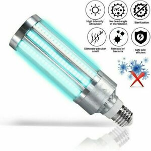 60W Ultraviolet Germicidal Lamp LED UVC Bulb E27 Household Disinfection Lamp