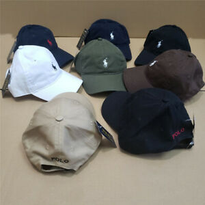 Men#x27;s Polo Embroidered Pony Classic Baseball Cap Adjustable Hat 100% Cotton $16.68