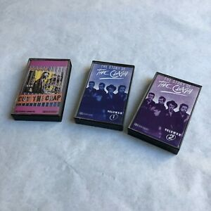 The Clash Cassette Tape Lot Uruguay Cut the Crap Story of the Clash