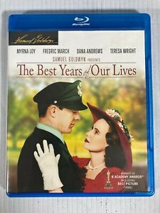 THE BEST YEARS OF OUR LIVES 1946 Myrna Loy Blu Ray Used Warner Brothers 2013