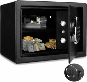 Digital Home Jewelry Cash Security Safe Box Electronic Steel 2 Types. $93.99