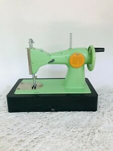 Vintage baby sewing machine Manual small sewing machine for children Decorative $35.00