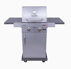 Char Broil Commercial Stainless Steel 2 Burner Liquid Propane and Natural Gas In