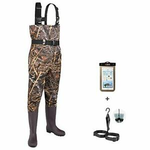Fishing Chest Waders for Men with Boots Mens Womens Hunting 13 Men Camo