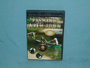 The Criterion Collection Fishing With John DVD Movie Nice Condition.