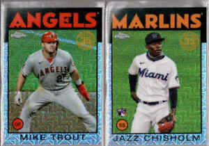 2021 Topps Series 2 1986 Silver Pack Chrome Refractor You Pick From A List