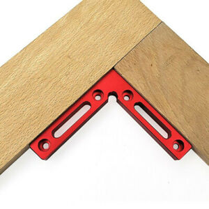 90° Clamp Square Ruler Right Angle Protractor Jig Woodworking Carpenter Tool G $15.46