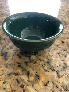 Longaberger Pottery Woven Traditions Dessert Bowl in Ivy $14.95