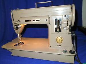 Vintage Singer 301A Sewing Machine Cleaned oiled serviced ready to sew $260.00