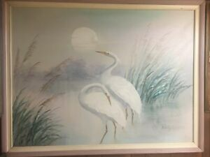 seascape original oil painting signed framed By A. Maley $425.00