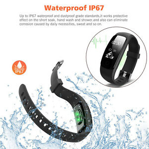 Smart Sport Fitness Activity Tracker Waterproof Adult Kids Android iOS US Stock $19.99