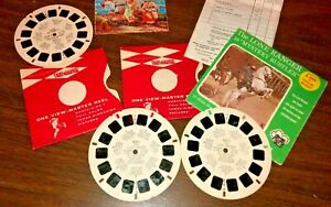 Vtg Sawyers View Master Reel Lot Lone Ranger Lassie Viewmaster $9.95