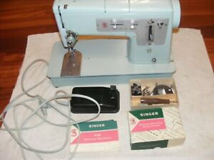 1964 Singer 338 ZigZag Pattern Cam Sewing Machine w foot pedal amp; accessories $60.00