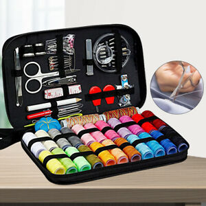 Portable Sewing Set Measure Case Needle Thread Tape Scissor Button For Travel US $9.51