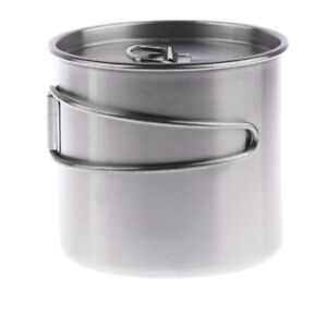 Anti corrosion Portable Outdoor Drinking Cooking Cup Pot Bowl Coffee Mug $16.86