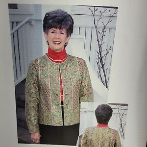 Park Avenue Jacket Pattern Women XS S M L XL Quilt Quilted Sewing $14.99